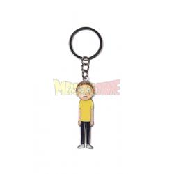 Llavero metálico Rick and Morty - Morty con cabeza articulada