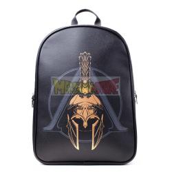 Mochila Assassin's Creed Odyssey negra logo dorado 45x30x14cm
