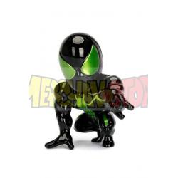 Figura Marvel Metals Diecast Stealth Spider-Man Green 10cm