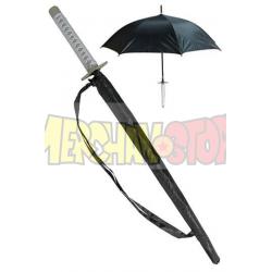 Paraguas katana con mango de espada Toshiro Hitsugaya Hyorinmaru