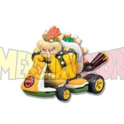 Coche de cuerda con pegatinas Mario Kart 8 - Bowser 5.5cm