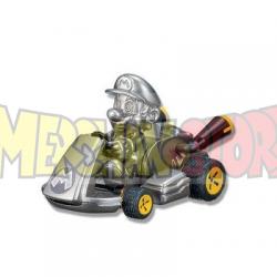 Coche de cuerda con pegatinas Mario Kart 8 - Mario 7cm
