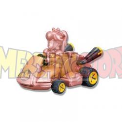 Coche de cuerda con pegatinas Mario Kart 8 - Princesa Peach 5.5cm