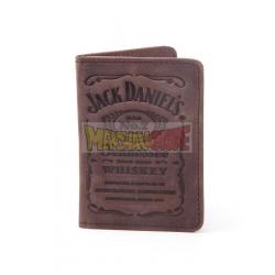 Tarjetero Jack Daniel's logo