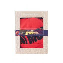 Gorro de invierno + bufanda Marvel - Spider-man