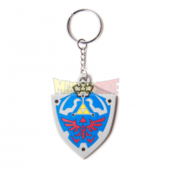 Llavero de goma The Legend of Zelda - Hyrulian Crest