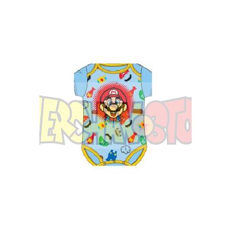 Body bebé Super Mario Bros multicolor 23 meses
