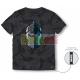 Camiseta niño manga corta Fortnite - Caballero Oscuro 10 años 140cm