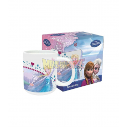 Taza cerámica 325Ml Frozen - Forever Sisters