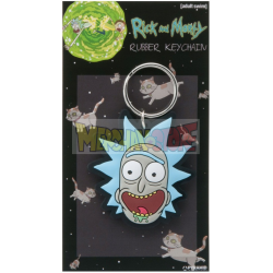 Llavero de goma Rick and Morty - Rick