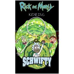 Llavero de goma Rick and Morty - Schwifty