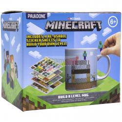 Taza cerámica Minecraft - Build a level