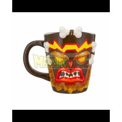 Taza 3D Crash Bandicoot - Uka Uka 350ml