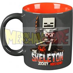 Taza cerámica Minecraft - Skeleton 325Ml