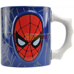 Taza cerámica grabada Spider-man 500ml