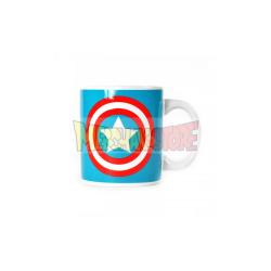 Taza cerámica Capitán América 350ml