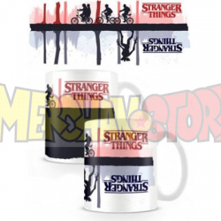 Taza cerámica termocolora Stranger Things - Upside Down 315ml