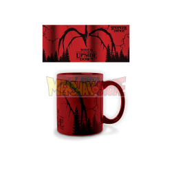Taza cerámica Stranger Things - Mind Flayer color metalizado 315ml