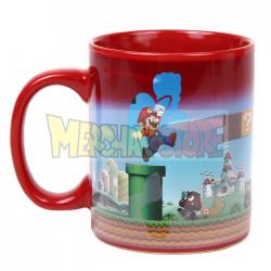 Taza cerámica termocolora Super Mario Bros