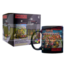 Taza cerámica termocolora Super Mario Kart 330ml