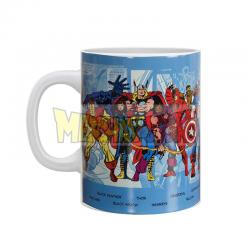 Taza cerámica Marvel - Superhéroes 550ml