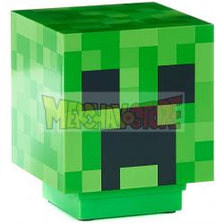 Lámpara de mesita de noche Minecraft - Creeper 19 x 16cm