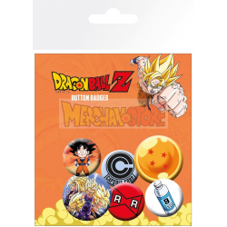 Pack de 6 chapas Dragon Ball