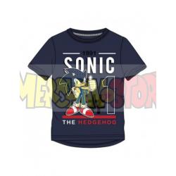 Camiseta niño Sonic - Nº1 1991 azul marino 8 años 128cm
