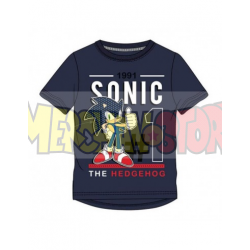 Camiseta niño Sonic - Nº1 1991 azul marino 10 años 140cm