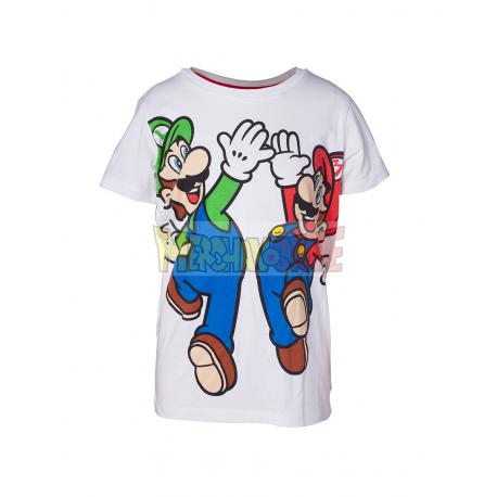 Camiseta Nintendo - Mario y Luigi 11 años 146cm - 12 años 152cm