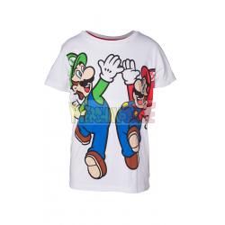Camiseta Nintendo - Mario y Luigi 13 años 158cm - 14 años 164cm