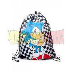 Saco mochila Sonic 48x35x1cm