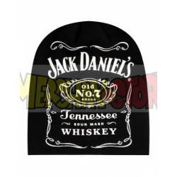 Gorro premium de invierno Jack Daniel`s - logo negro