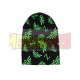 Gorro premium Zelda - logo Hyrule negro y verde