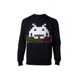 Sudadera Sudadera Space Invaders negra Talla XL