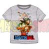Camiseta niño Dragon Ball - Personajes gris 8 años 128cm