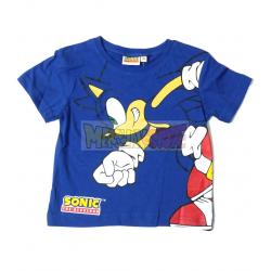 Camiseta niño Sonic azul 3 años 98cm
