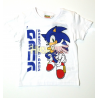 Camiseta niño Sonic blanca 3 años 98cm