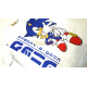 Camiseta niño Sonic blanca 8 años 128cm