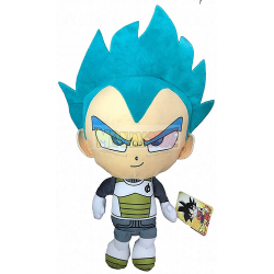 Peluche Dragon Ball Super - Vegeta Ultra Instinto 30cm