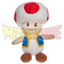 Peluche Super Mario - Toad 37cm