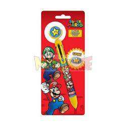 Bolígrafo Sper Mario 6 colores