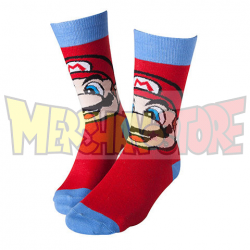 Calcetines adulto Super Mario Talla 43-46