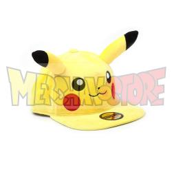 Gorra adulto Pokemon - Pikachu con orejas