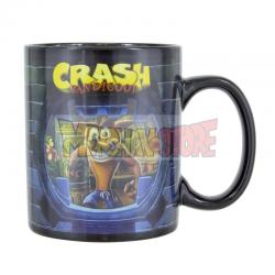 Taza cerámica termocolora Crash Bandicoot 300ml