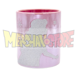 Taza cerámica de diseño con purpurina Disney - Frozen