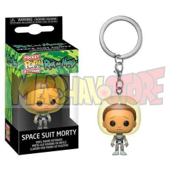 Llavero Pocket POP Rick and Morty - Space Suit Morty