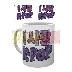 Taza cerámica K-Pop Heart 300ml