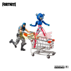 Figura Fortnite Shopping Cart Pack War Paint & Fireworks Team Leader 18 cm