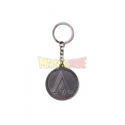 Llavero metálico Assassin's Creed Odyssey - Odyssey logo negro